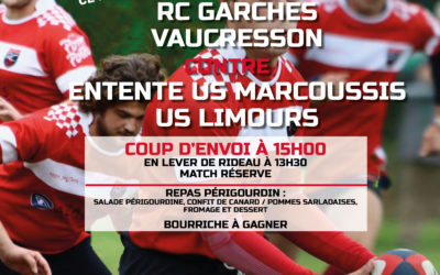 RCGV vs Entente Marcoussis/Limours – 18/03