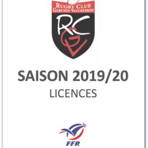 Licences et cartes membres