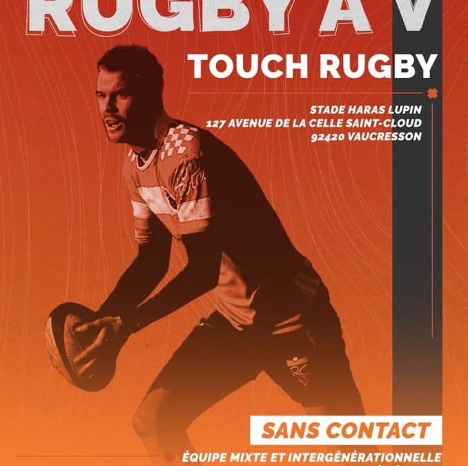 le Rugby Club Garches-Vaucresson crée son équipe de Rugby à 5